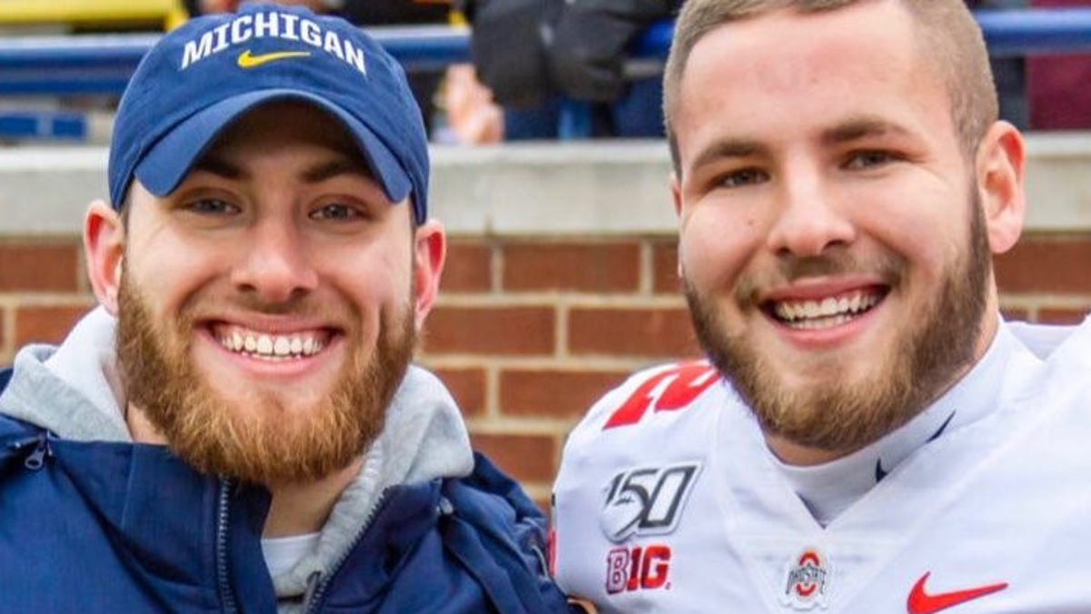 'Blood over alma mater': Robinson brothers set aside rivalry as Ohio State vies for national title 1