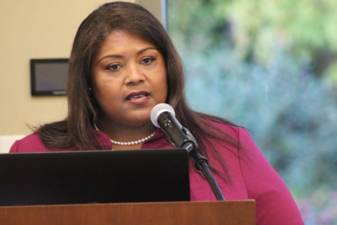 Chari Mullen, Fremont's new diversity and inclusion director, spoke to Fremont City Council members Thursday about her first 90 days in office and future goals within the city.