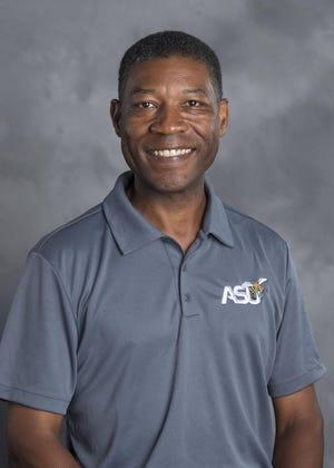 Alabama State golf coach Quincy Heard.