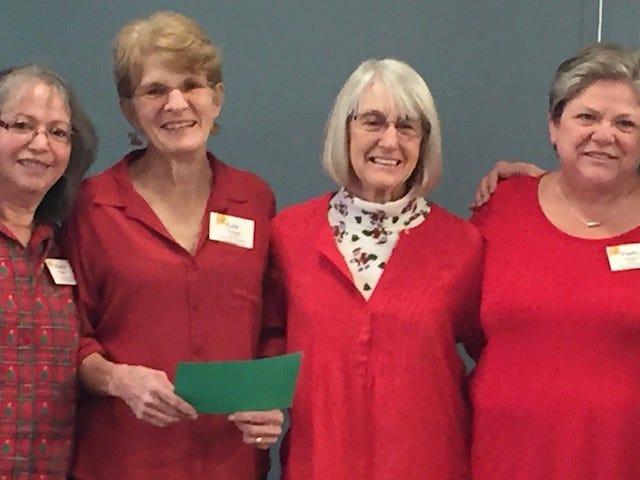 Las Cruces Association of Educational Retirees officers for 2021 include, from left:Maria Pearce (secretary),Lois Visage (president),Judy Burnham (vice president) and Paula Stuart (treasurer).