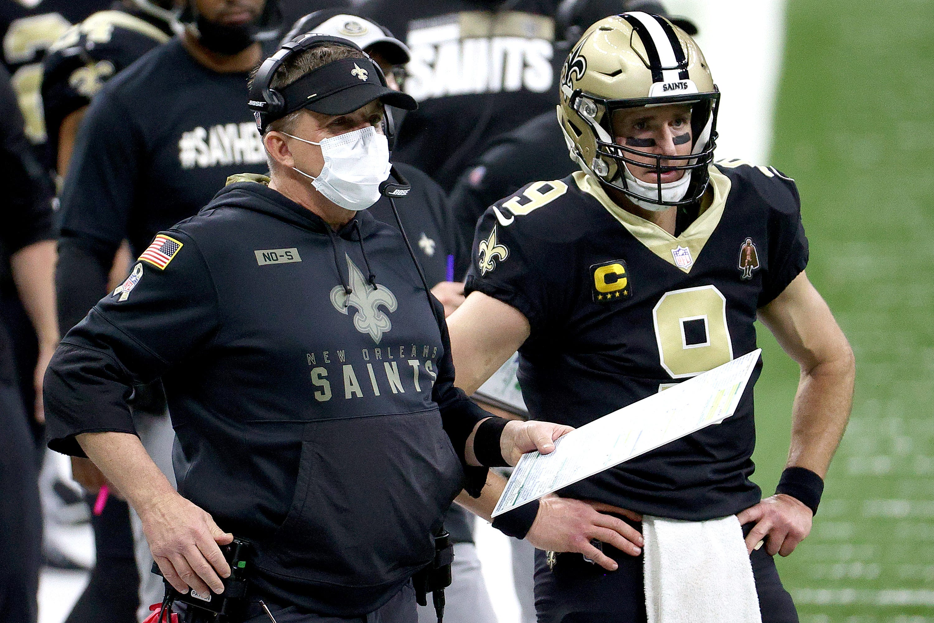 New Orleans Saints coach Sean Payton delivers on slime promise to cap off entertaining Nickelodeon broadcast
