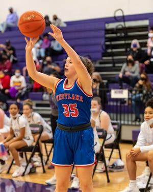 M.E. Ramsey helped Westlake win two games last week and improve to 6-0 in District 26-6A girls basketball play.
