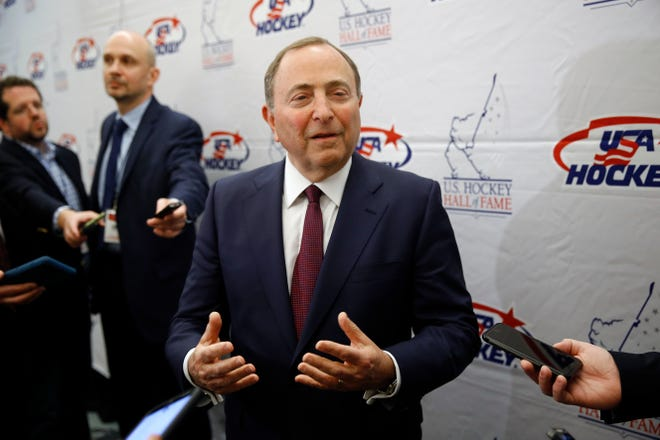 The season opens Wednesday and NHL Commissioner Gary Bettman estimates the league will lose over $1 billion even by playing.