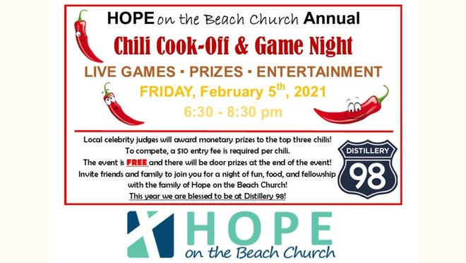 Hope's Annual Chili Cook-Off