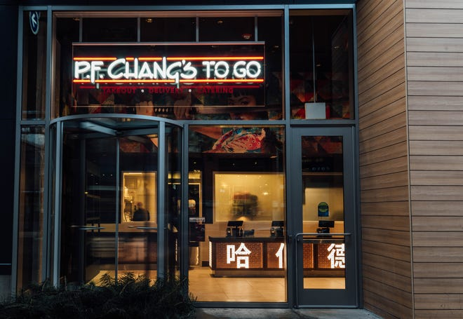 P.F. Chang's plans to open P.F. Chang's To Go, like this one in Chicago, this summer at River City Marketplace in Jacksonville's Northside.
