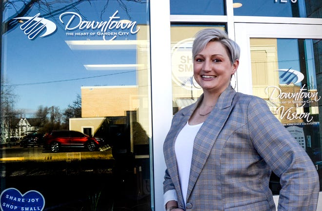 Melissa Gallegos is the new executive director of Downtown Vision.