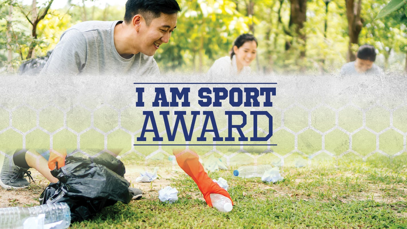 Know an athlete who's made an impact in your community? Nominate them for the I AM SPORT Award!