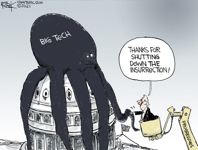 Today's editorial cartoon (Jan. 13, 2021)