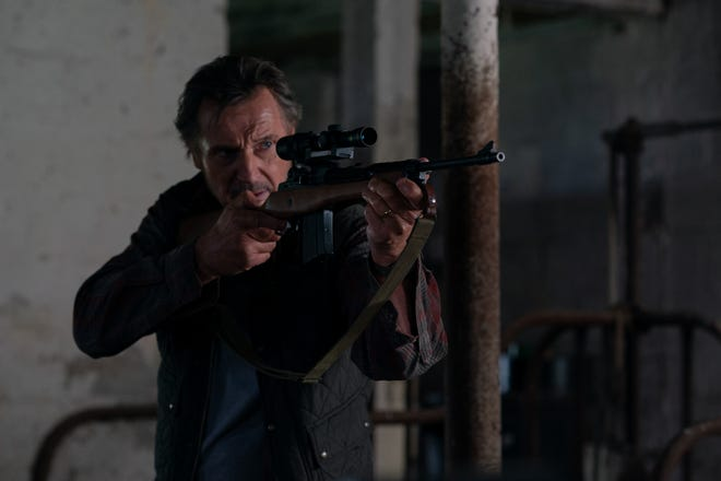 """Liam Neeson stars as the title chracter in director Robert Lorenz's """"The Marksman."""""""
