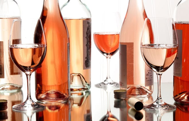 Rose wine is still hot, even in the time of COVID.