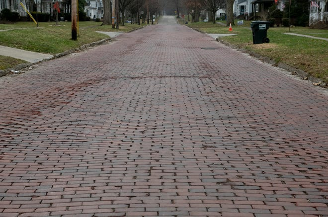 Ravenna is evaluating options to improve the iconic brick street South Freedom street.