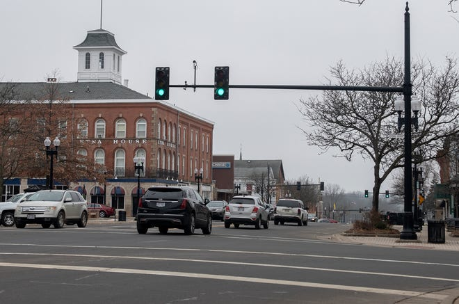 A section of Main Street in Ravenna is ranked number four on a list of 181 high-crash road sections, mostly in Summit and Portage counties, according to an Akron Metropolitan Area Traffic Study report covering the three year period of 2017-19.