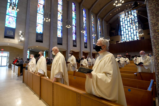 Tuesday's ordination Mass for Rev. David J. Bonner, who became the sixth bishop of the Youngstown diocese.