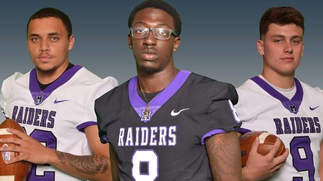 Kordell Ford, Derrick Harvey Jr. and Braxton Plunk have been named captains for the Mount Union football team's 2021 spring season.