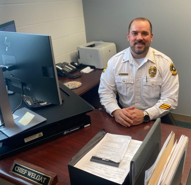 New Kewanee Police Chief Nicholas Welgat has already making changes to the department, with a focus on better communication with and service of the community.