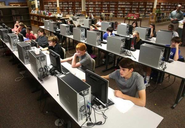 Early state testing data indicates Kansas students' proficiency in math and English language arts has dropped slightly during a year upended by the pandemic.