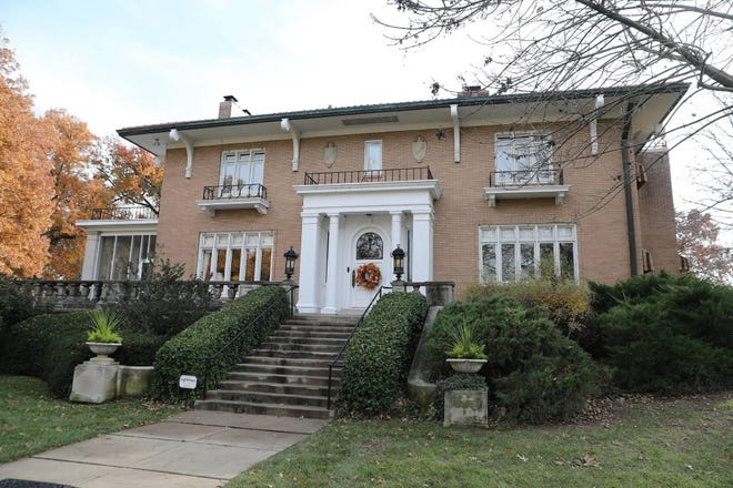 This mansion at 1011 S.W. Cambridge Ave. was the home of Harry Woodring, governor of Kansas and U.S. Secretary of War.