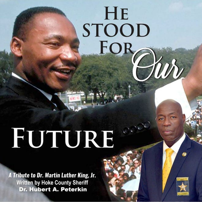 Hoke County Sheriff Hubert Peterkin writes a song in tribute to the late Dr. Martin Luther King, Jr. [Contributed photo]