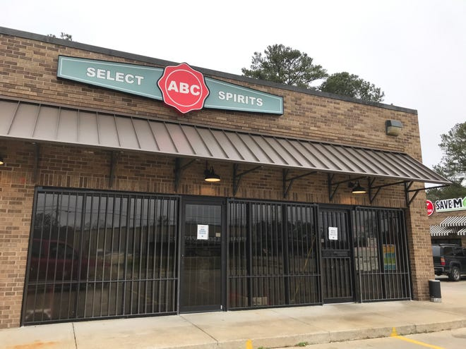 The ABC store in Rainbow City is one of 41 around the state that are temporarily closing because of the COVID-19 pandemic.