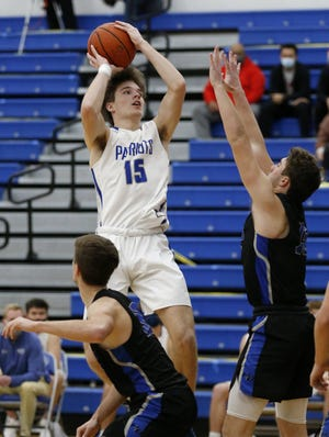 Senior post player Andrew Wade was averaging 16 points through eight games for Liberty. The Patriots were 7-2 overall and 2-2 in the OCC-Central after defeating Hilliard Davidson 64-60 on Jan. 8 and Upper Arlington 60-46 on Jan. 12.