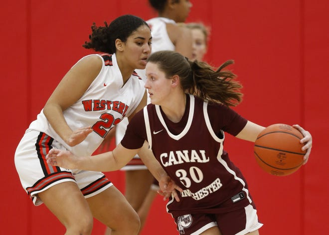 Canal Winchester junior Kierstyn Liming, a transfer from Hilliard Davidson, has been leading the Indians offensively along with sophomore Kate Ratliff. Through five games, Ratliff was averaging 10.4 points and 7.2 rebounds and Liming was averaging 9.3 points and 3.9 rebounds.