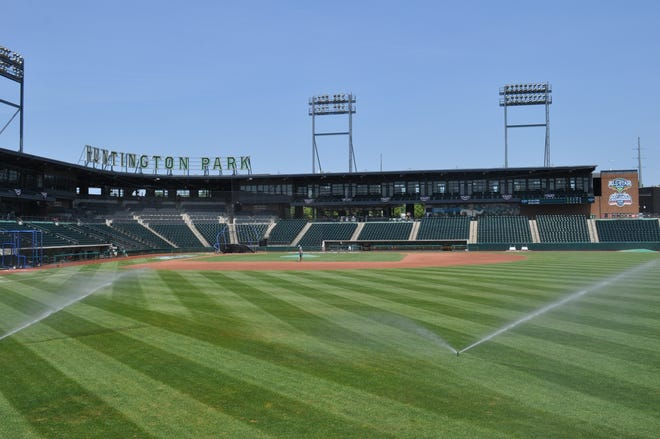 Huntington Park is in Columbus' Arena District.