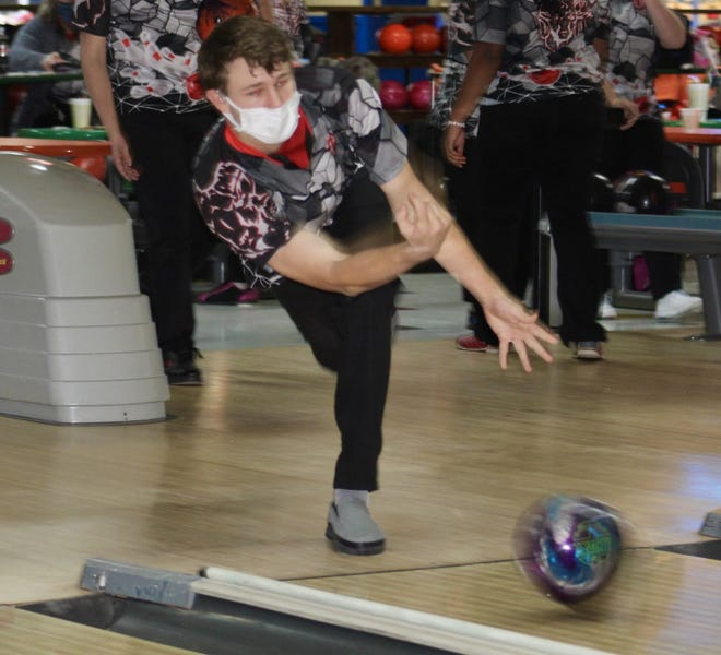 A.J. Scott has been a solid early season contributor for the Whitehall-Yearling boys bowling team. Scott led the Rams with a 453 two-game series in a 2,217-2,086 win over Groveport on Jan. 11 at Holiday Lanes.