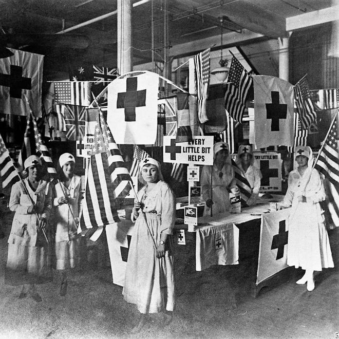 Just as today, nurses and other healthcare workers were on the front lines of fighting the Spanish Flu in 1918