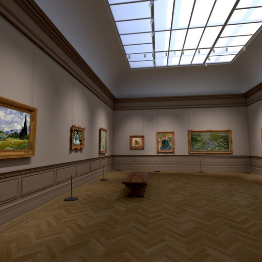 The Met Unframed will allow visitors to virtually access the museum's vast collections.