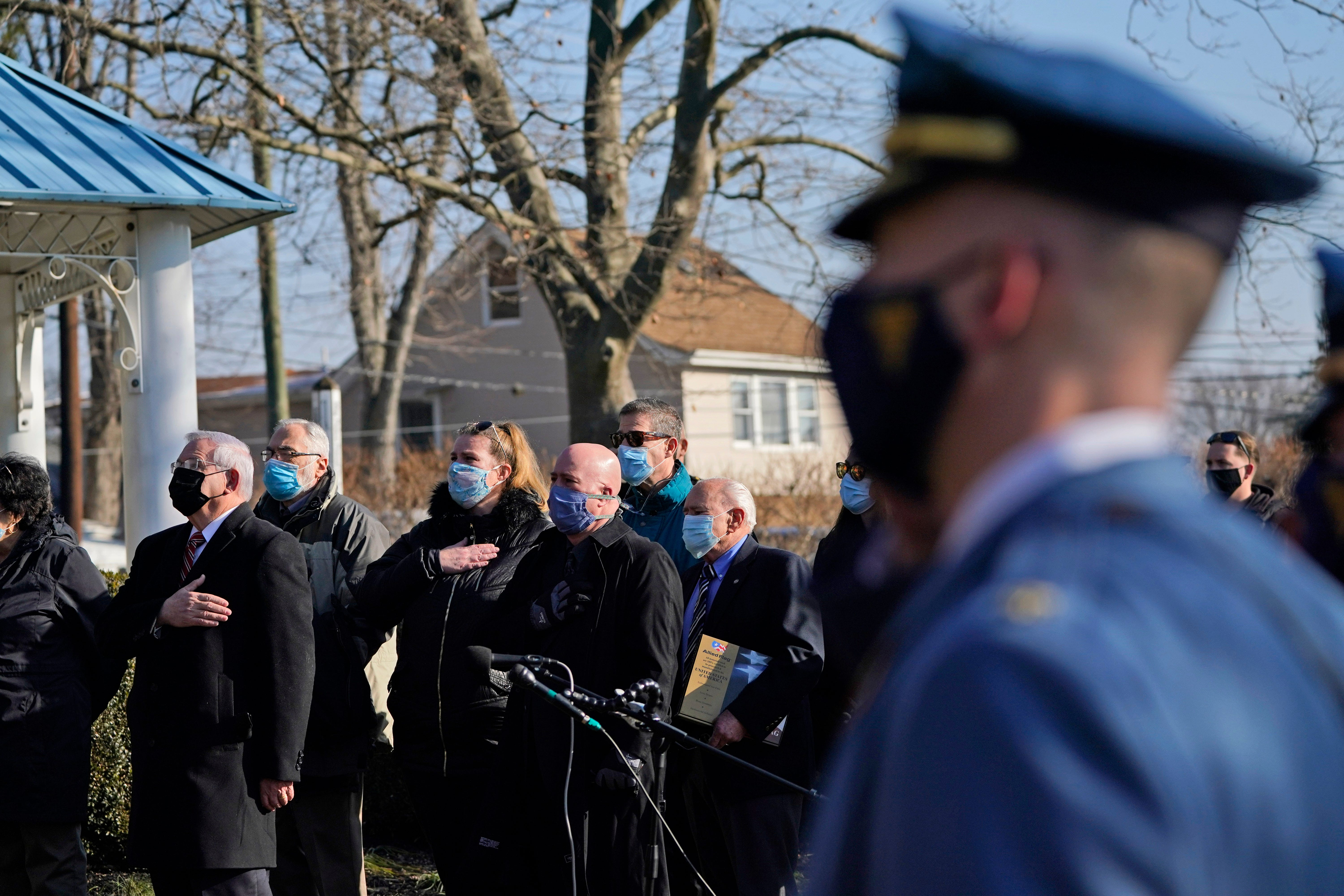 Fallen US Capitol Police Officer Brian Sicknick remembered as  a patriot and a hero  in his New Jersey hometown