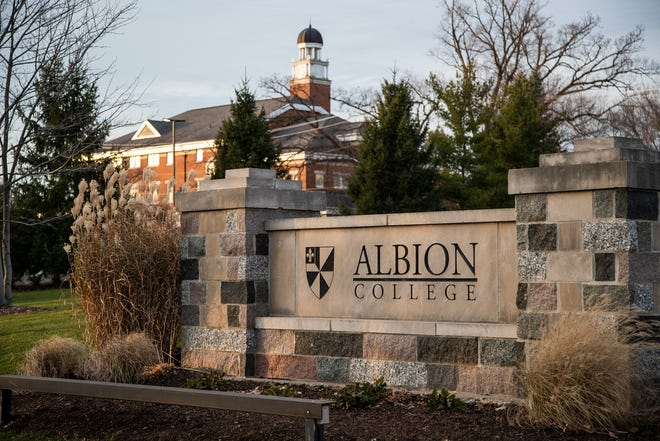 Albion College in Albion , Friday, Nov. 20, 2020.