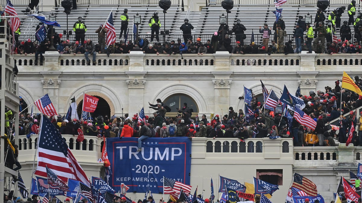 FBI report warned of 'war' at Capitol, contradicting claims that there was no indication of looming violence 1