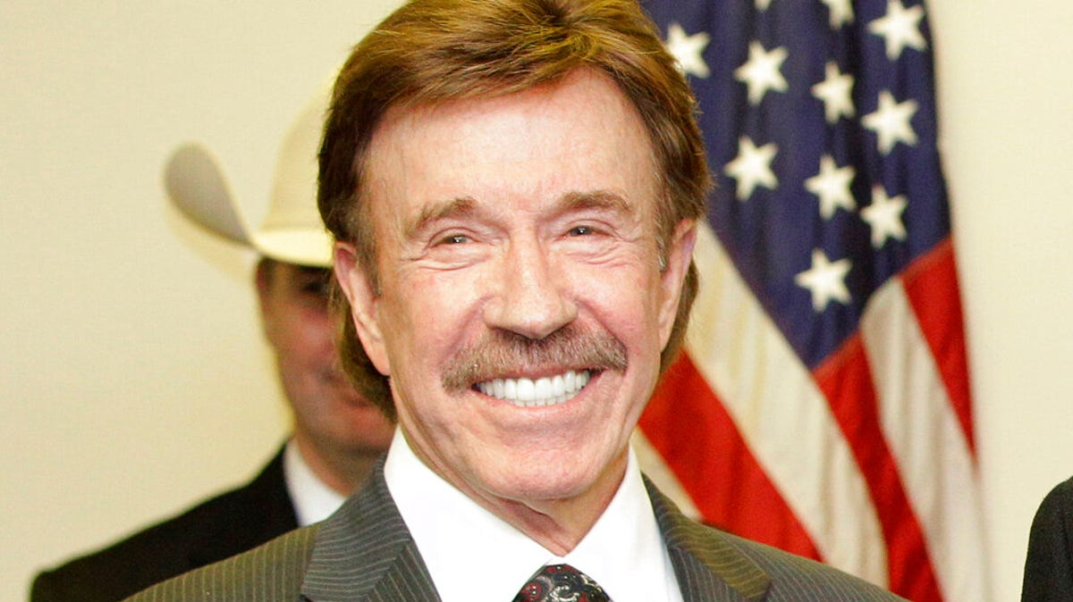 Chuck Norris manager says actor was not at US Capitol siege 1