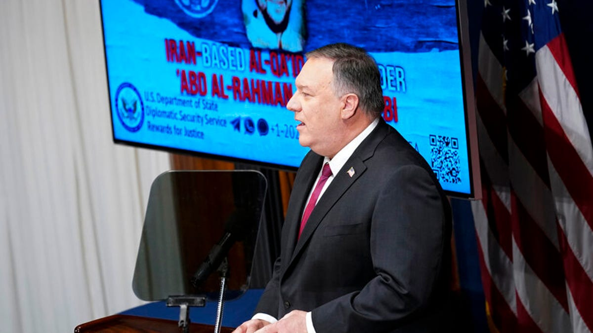 Pompeo hits Iran for al-Qaida support on his way out 1