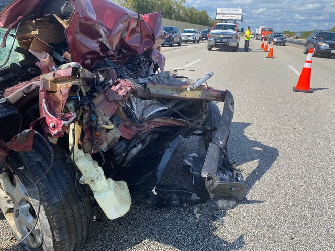 A  74-year Ave Maria driver died  when his carhit the back of a tanker truck driven by a 41-year-old Seffner man about 12:41 p.m. Monday, Jan. 22, 2021, on Interstate 75  South near Mile Marker 169 in Charlotte County, Florida Highway Patrol reported.