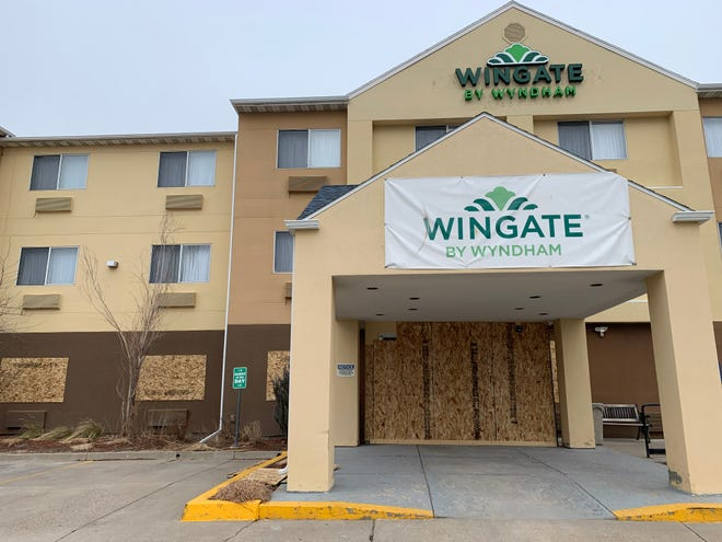 The Wingate by Wyndham hotel in Great Falls is temporarily closed due to slowed travel amid the COVID-19 pandemic.