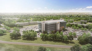 Renderings of Baptist Health Louisville's new outpatient care center.
