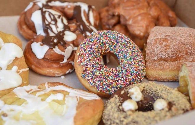 Pastry Plus doughnuts.