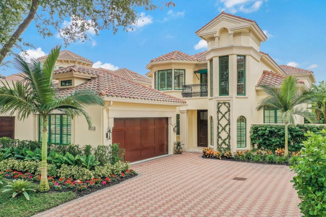 A 3,605 square-foot detached villa at 8057 Via Vecchia recently fetched $5.450 million, the highest residential sale price per square foot and the highest sale price to date in Vizcaya at Bay Colony.