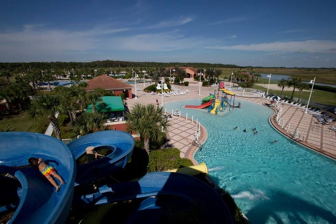 One on-site amenity at Ave Maria, ranked as one of the nation's top selling master-planned communities, is a water park.