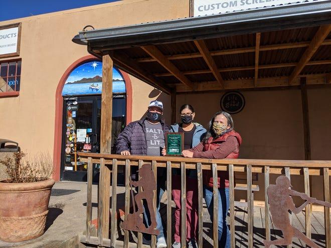 Judah, Fran and Lynn Mondello of Morning Star.