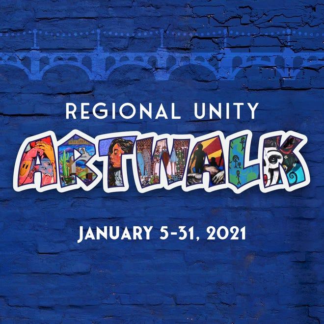 """""""Unity ArtWalk: Un viaje visual de diversidad, cultura y equidad"""" se realizará del 5 al 31 de enero de 2021."""