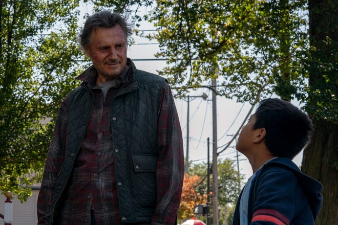 """Liam Neeson and Jacob Perez star in """"The Marksman."""" The ovie opens Friday at Queensgate Moves 13 and Hanover Movies 16."""