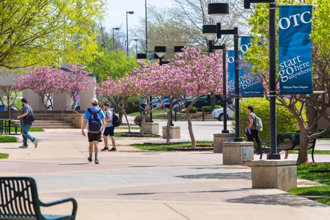 Ozarks Technical Community College proposes a redesign of the student plaza, which may cost up to $1 million.