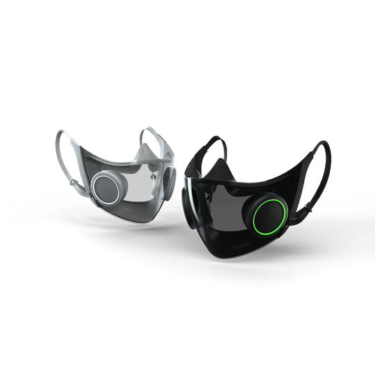 Razer's Project Hazel, which the company boasts, is the world's smartest and most socially friendly face mask, has a voice amplifier so your voice is not muted.