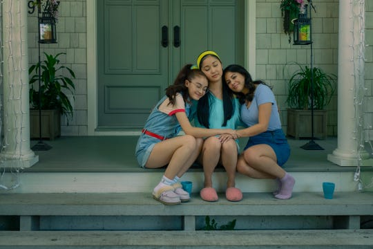 Sisters Kitty (Anna Cathcart), Lara Jean (Lana Condor) and Margot (Janel Parrish) were there for each other during a difficult time.