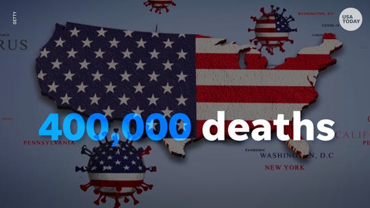 The COVID-19 death toll is likely to exceed the 405,000 U.S. fatalities from World War II.