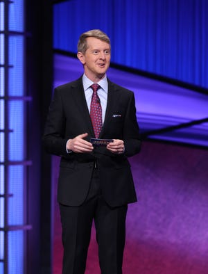 """Ken Jennings on his first night hosting """"Jeopardy!"""""""