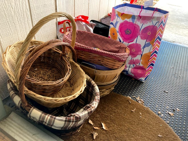 I've given away more than 30 items, including books, baskets, games, kitchen gear and crafting supplies, during the past six weeks through my Buy Nothing group, a hyper-local gift economy where participants ask for and give whatever they might need.