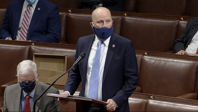 "U.S. Rep. Chip Roy, a Republican from Hays County, described President Donald Trump's actions as ""clearly impeachable conduct,"" but he didn't vote Wednesday to impeach Trump, finding fault in the wording of the article of impeachment."